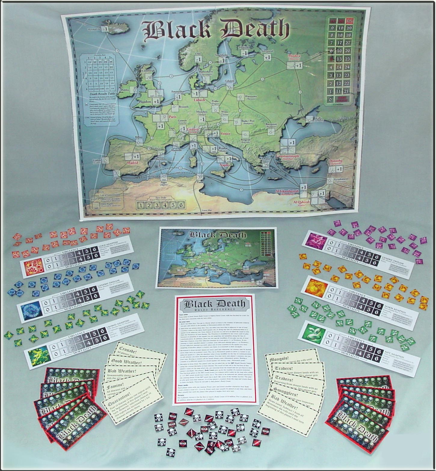 Black Death assembled